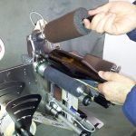 LED etichettatrice manuale da banco