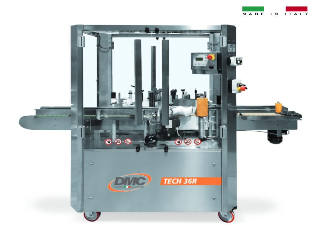 Etichettatrice automatica lineare TECH36R